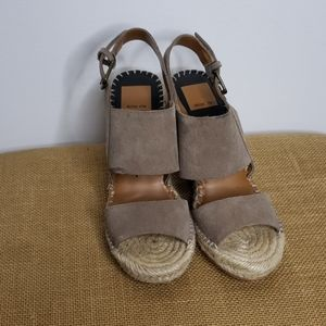 Dolce Vita wedge sandals sz 6